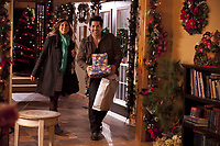 Finding Christmas (2013)<br /> Tricia Helfer &amp; Jt Hodges<br /> *Filmstill - Editorial Use Only*<br /> CAP/KFS<br /> Image supplied by Capital Pictures