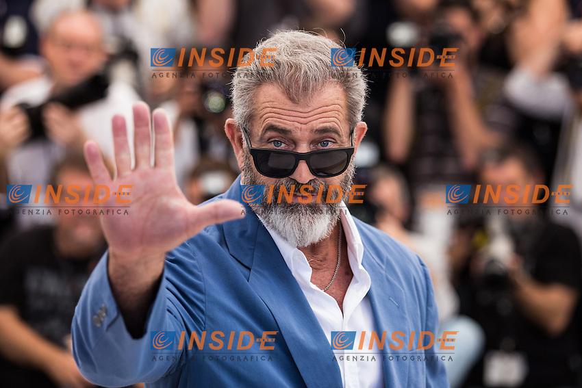 Mel Gibson <br /> Cannes 21-05-2016 <br /> Festival del Cinema di Cannes 2016<br /> Foto Panoramic / Insidefoto