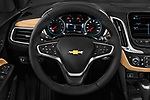 Car pictures of steering wheel view of a 2019 Chevrolet Equinox Premier 5 Door SUV
