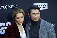 """LOS ANGELES - OCT 22:  Lou Diamond Phillips at the """"The Walking Dead"""" 100th Episode Celebration at the Greek Theater on October 22, 2017 in Los Angeles, CA"""
