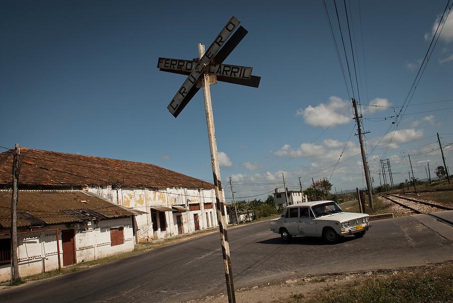 Hershey railway crossing, Cuba.