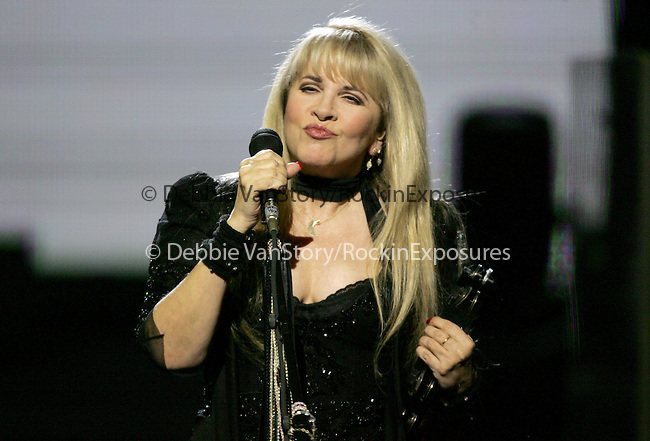 "Songstress Stevie Nicks performs live for a four night production called ""Dreams"" exclusively at The Colosseum in Caesars Palace in Las Vegas,Nevada on May 11,2005.(Pictured:Stevie Nicks). Copyright 2005 by RockinExposures"