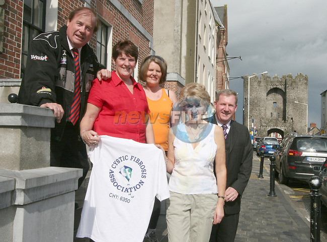 Frank Godfrey, Julia Kierans, Bridie Farrell, Briege Lynn and Malachy Godfrey who are taking part in the Walk in Vietnam in aid of Cystic Fibrosis...Photo NEWSFILE/Jenny Matthews.(Photo credit should read Jenny Matthews/NEWSFILE)....This Picture has been sent you under the condtions enclosed by:.Newsfile Ltd..The Studio,.Millmount Abbey,.Drogheda,.Co Meath..Ireland..Tel: +353(0)41-9871240.Fax: +353(0)41-9871260.GSM: +353(0)86-2500958.email: pictures@newsfile.ie.www.newsfile.ie.FTP: 193.120.102.198.