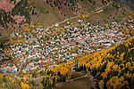 October View of Telluride, Colorado