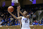 22 November 2015: Duke's Azura Stevens. The Duke University Blue Devils hosted the United States Military Academy at West Point Army Black Knights at Cameron Indoor Stadium in Durham, North Carolina in a 2015-16 NCAA Women's Basketball Exhibition game. Duke won the game 72-61.