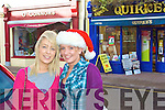 Ashley Sheehan & Miriam Curran Christmas shopping in Cahersiveen.
