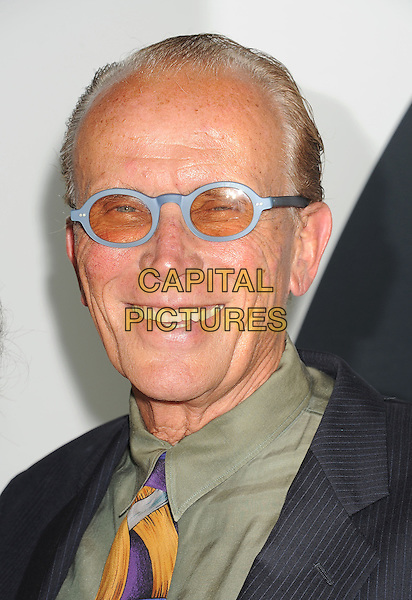 Peter Weller<br /> &quot;Star Trek Into Darkness&quot; DVD/Blu-Ray Release held at the California Science Center, Los Angeles, California, USA.<br /> September 10th, 2013<br /> headshot portrait shirt green blue glasses frames tinted <br /> CAP/ROT/TM<br /> &copy;Tony Michaels/Roth Stock/Capital Pictures