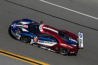 IMSA WeatherTech SportsCar Championship<br /> December Test<br /> Daytona International Speedway<br /> Daytona Beach, FL USA<br /> Wednesday, 06 December, 2017<br /> 66, Ford, Ford GT, GTLM, Joey Hand, Dirk Muller, Sebastien Bourdais<br /> World Copyright: Brian Cleary<br /> LAT Images
