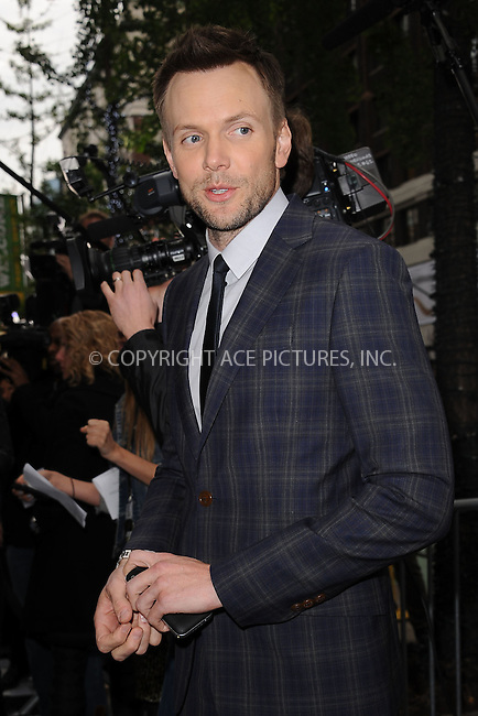 WWW.ACEPIXS.COM . . . . . .April 30, 2012...New York City....Joel Mchale arriving to attend the E! 2012 Upfront at Gotham Hall on April 30, 2012  in New York City ....Please byline: KRISTIN CALLAHAN - ACEPIXS.COM.. . . . . . ..Ace Pictures, Inc: ..tel: (212) 243 8787 or (646) 769 0430..e-mail: info@acepixs.com..web: http://www.acepixs.com .