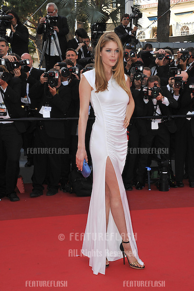 "Doutzen Kroes at the gala premiere of ""The Beaver"" in competition at the 64th Festival de Cannes..May 17, 2011  Cannes, France.Picture: Paul Smith / Featureflash"