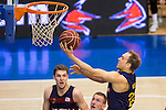 FC Barcelona Lassa's Brad Oleson during the match of Endesa ACB League between Fuenlabrada Montakit and FC Barcelona Lassa at Fernando Martin Stadium in fuelnabrada,  Madrid, Spain. October 30, 2016. (ALTERPHOTOS/Rodrigo Jimenez)
