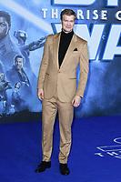 "Joonas Suotamo<br /> arriving for the ""Star Wars: The Rise of Skywalker"" premiere at the Cineworld Leicester Square, London.<br /> <br /> ©Ash Knotek  D3545 17/12/2019"