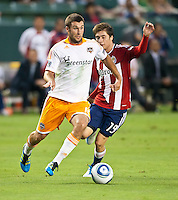CARSON, CA – July 23, 2011: Houston Dynamo forward Will Bruin (12) during the match between Chivas USA and Houston Dynamo at the Home Depot Center in Carson, California. Final score Chivas USA 3, Houston Dynamo 0.