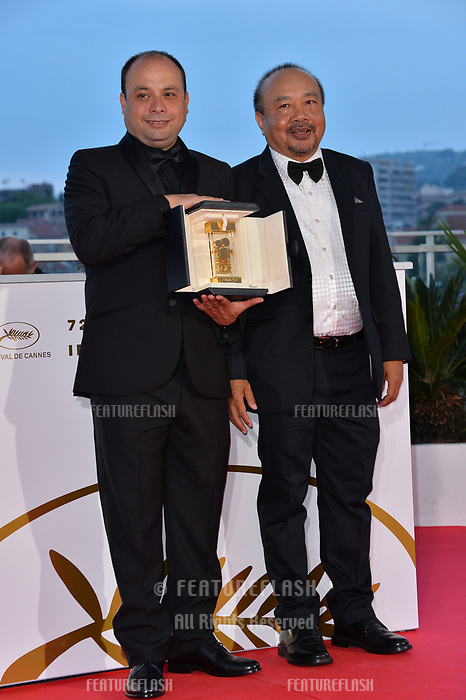 CANNES, FRANCE. May 25, 2019: Cesar Diaz at the Palme d'Or Awards photocall at the 72nd Festival de Cannes.<br /> Picture: Paul Smith / Featureflash