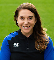 Sophie Bennett of Bath Rugby poses for a portrait. Bath Rugby Media Day on August 14, 2018 at Farleigh House in Bath, England. Photo by: Patrick Khachfe / Onside Images