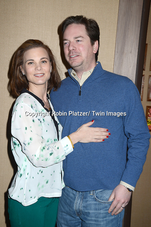 "Gina Tognoni and husband Joe Chiarello  attends the Ricky Paull Goldin premiere party and fundraiser for his new HGTV show ""Spontaneous Construction"" which will air on February 15, 2013. The party was on February 10, 2013 at Guy's American Kitchen in New York City."