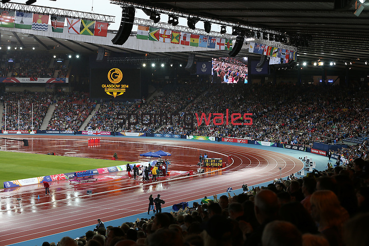 Glasgow 2014 Commonwealth Games<br /> <br /> Athletics Day 8<br /> A general view of Hampden Park.<br /> <br /> 31.07.14<br /> ©Steve Pope-SPORTINGWALES