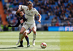 Real Madrid CF's Gareth Bale and SD Eibar's Marc Cucurella during La Liga match. April 06, 2019. (ALTERPHOTOS/Manu R.B.)