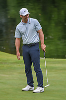 Paul Casey (GBR) reacts after barely missing his birdie attempt on 17 during round 4 of the World Golf Championships, Mexico, Club De Golf Chapultepec, Mexico City, Mexico. 2/24/2019.<br /> Picture: Golffile | Ken Murray<br /> <br /> <br /> All photo usage must carry mandatory copyright credit (© Golffile | Ken Murray)