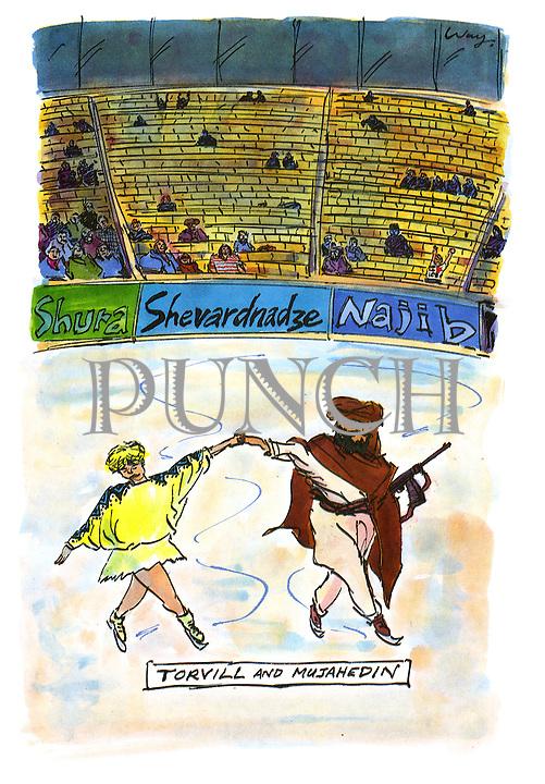 Torvill and Mujahedin
