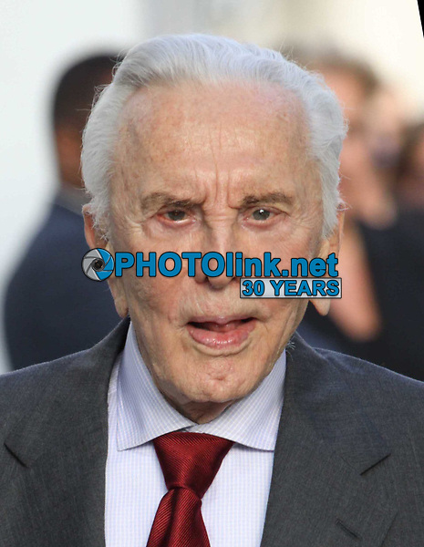 New York City<br /> CelebrityArchaeology.com<br /> 2010 FILE PHOTO<br /> KIRK DOUGLAS<br /> Photo By John Barrett-PHOTOlink.net<br /> -----<br /> CelebrityArchaeology.com, a division of PHOTOlink,<br /> preserving the art and cultural heritage of celebrity <br /> photography from decades past for the historical<br /> benefit of future generations.<br /> ——<br /> Follow us:<br /> www.linkedin.com/in/adamscull<br /> Instagram: CelebrityArchaeology<br /> Twitter: celebarcheology