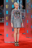 www.acepixs.com<br /> <br /> February 12 2017, London<br /> <br /> Michelle Williams arriving at the 70th EE British Academy Film Awards (BAFTA) at the Royal Albert Hall on February 12, 2017 in London, England<br /> <br /> By Line: Famous/ACE Pictures<br /> <br /> <br /> ACE Pictures Inc<br /> Tel: 6467670430<br /> Email: info@acepixs.com<br /> www.acepixs.com