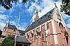 St. Rochus-Kapelle (1891-95, Architekt Max Meckel), Wallfahrtskirche, auf dem Rochusberg, Bingen am Rhein