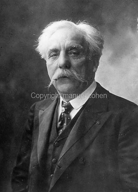 Portrait of Gabriel Faure, 1845-1924, French composer, c. 1920, photographer unknown. Copyright © Collection Particuliere Tropmi / Manuel Cohen