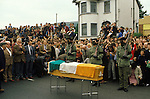 "Ireland The Troubles. Belfast  Funeral of IRA ""soldier"" 1980s"