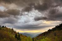 Sunrise, Oconaluftee Valley, Great Smoky Mountains National Park, North Carolina