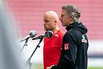Rouven Schröder / Schroeder (Vorstand Sport 1. FSV Mainz 05) Frank Baumann (Geschäftsführer Fußball Werder Bremen)<br /> <br /> <br /> Sport: nphgm001: Fussball: 1. Bundesliga: Saison 19/20: 33. Spieltag: 1. FSV Mainz 05 vs SV Werder Bremen 20.06.2020<br /> <br /> Foto: gumzmedia/nordphoto/POOL <br /> <br /> DFL regulations prohibit any use of photographs as image sequences and/or quasi-video.<br /> EDITORIAL USE ONLY<br /> National and international News-Agencies OUT.