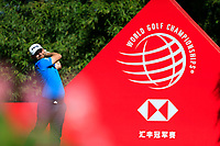 Andy Sullivan (ENG) on the 2nd tee during the final round at the WGC HSBC Champions 2018, Sheshan Golf CLub, Shanghai, China. 28/10/2018.<br /> Picture Fran Caffrey / Golffile.ie<br /> <br /> All photo usage must carry mandatory copyright credit (&copy; Golffile | Fran Caffrey)
