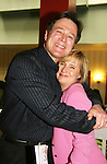 "Guiding Light's Frank Dicopoulos poses with Jennifer Kehm - cofounder of YWBCF (Young Women's Breast Cancer Foundation) event - Reach to Recovery - ""Spring into Shape!"" Luncheon and Fashion Show on April 6, 2008 at Embassy Suites, Coraopolis, Pennsylvania. The event also included a Chinese Auction and an autograph session with the Guiding Light actors."