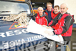 Kerry Mountain Rescue Team Members Mick Long, Tony Holmes, John Cronin and John Dowd pictured as they launched the annual appeal by the team to walkers to take all necessary precautions when out hill walking over the Festive Season.