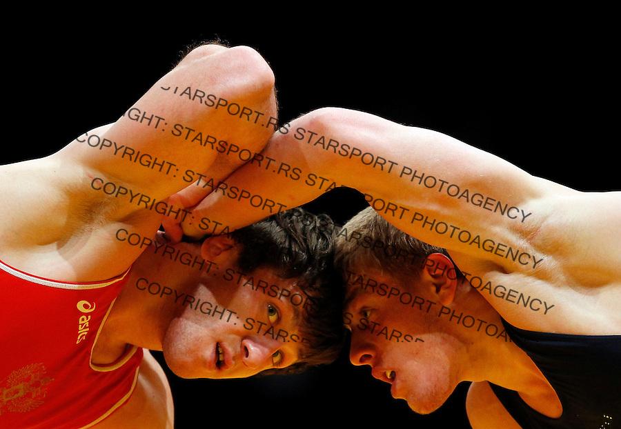 Wrestling, European championship 2012.Rvanje, Evropsko prvenstvo .Finala.Beograd, 08.03.2012.foto: Srdjan Stevanovic/Starsportphoto ©