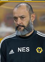 27th December 2019; Molineux Stadium, Wolverhampton, West Midlands, England; English Premier League, Wolverhampton Wanderers versus Manchester City; Wolverhampton Wanderers Head Coach Nuno Espirito Santo before the kick off - Strictly Editorial Use Only. No use with unauthorized audio, video, data, fixture lists, club/league logos or 'live' services. Online in-match use limited to 120 images, no video emulation. No use in betting, games or single club/league/player publications