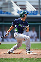 Vermont Lake Monsters pinch hitter Tyler Ramirez (31) at bat during a game against the Auburn Doubledays on July 13, 2016 at Falcon Park in Auburn, New York.  Auburn defeated Vermont 8-4.  (Mike Janes/Four Seam Images)