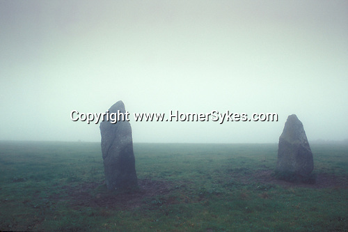 The Two Sisters. Nr Penzance, Cornwall, England. Mysterious Britain published by Orion