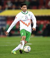 FUSSBALL   1. BUNDESLIGA  SAISON 2011/2012   10. Spieltag FC Augsburg - SV Werder Bremen           21.10.2011 Mehmet Ekici (SV Werder Bremen)