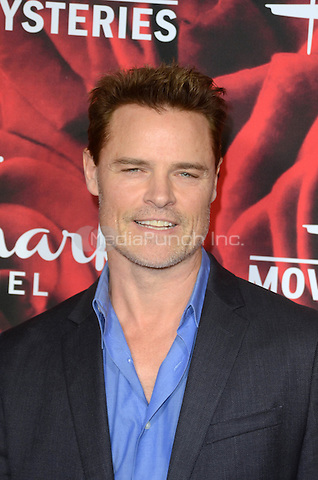 PASADENA. CA - JANUARY 14: Dylan Neal at the Hallmark Winter 2017 TCA Event at Tournament House in Pasadena, California on January 14, 2017. Credit: David Edwards/MediaPunch