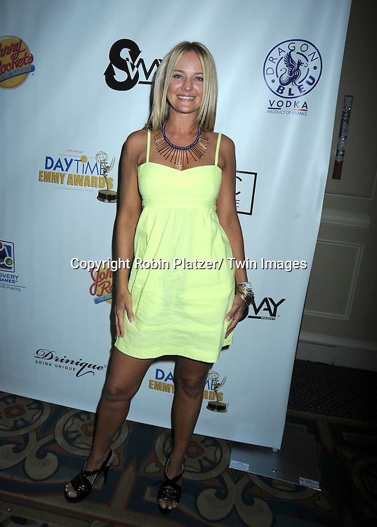 Sharon Case at the Sway Gift Suite at the Daytime Emmy Awards on June 26, 2010 at The Hilton in Las Vegas on June 26, 2010.