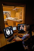Photography in the of the PET/CT Scanner at Carolinas Medical Center in Charlotte, North Carlina.