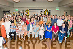 Emma Quirke, Tralee, seated centre, had a massive 30th birthday party in the Ballyroe Heights hotel, Tralee last Saturday night attended by many friends and family.
