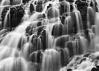 Lower falls detail, Yankee Boy Basin, Colorado.<br /> <br /> Mamiya RB67 Pro SD, 180mm lens, Kodak TMAX film