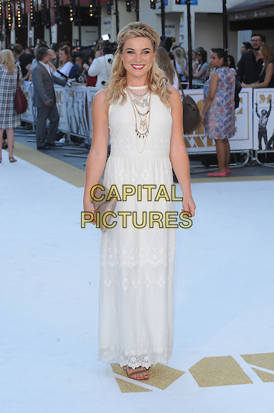 LONDON, ENGLAND - JUNE 30: Sian Welby attends the European Premiere of Magic Mike XXL at Vue West End on June 30, 2015 in London, England.<br /> CAP/BEL<br /> &copy;Tom Belcher/Capital Pictures