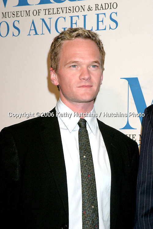 Neil Patrick Harris.Museum of TV & Radio Annual Gala IHO Les Moonves and Jerry Bruckheimer.Regent Beverly Wilshire Hotel.Beverly Hills, CA.October 30, 2006.©2006 Kathy Hutchins / Hutchins Photo....