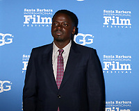 SANTA BARBARA - FEB 3:  Daniel Kaluuya at the 33rd Annual Santa Barbara International Film Festival Virtuosos Award at Arlington Theater on February 3, 2018 in Santa Barbara, CA