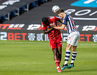 Fulham's Joshua Onomah competing with West Bromwich Albion's Dara O'Shea (right) <br /> <br /> Photographer Andrew Kearns/CameraSport<br /> <br /> The EFL Sky Bet Championship - West Bromwich Albion v Fulham - Tuesday July 14th 2020 - The Hawthorns - West Bromwich <br /> <br /> World Copyright © 2020 CameraSport. All rights reserved. 43 Linden Ave. Countesthorpe. Leicester. England. LE8 5PG - Tel: +44 (0) 116 277 4147 - admin@camerasport.com - www.camerasport.com