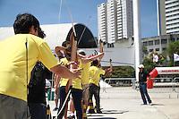 SÃO PAULO, SP - 21.09.2013 - VIRADA ESPORTIVA 2013 SÃO PAULO - Movimentação durante o primeiro dia da virada esportiva, no Memorial da América Latina, zona oeste de São Paulo, a Virada Esportiva 2013 tem início neste sábado (21) e termina as 18hs desse domingo (22). (Foto: Marcelo Brammer/Brazil Photo Press)