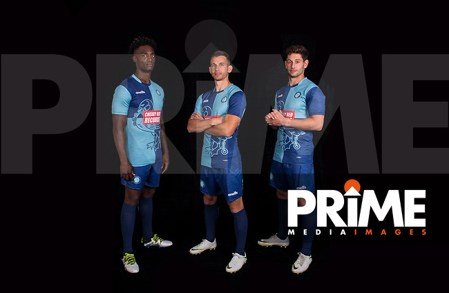 Wycombe Wanderers Kit Launch at Wycombe Training Ground, High Wycombe, England on 28 June 2018. Photo by PRiME Media Images.